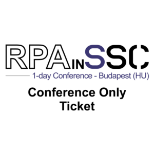 RPAinSSC_Conference_only_ticket_budapest